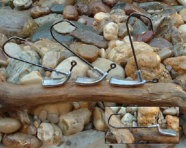 """TETES PLOMBEES """" COUP DE PIED """" ORKA : angle réglable"""